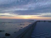 tramonto 免版税库存照片