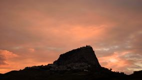 tramonto obraz stock