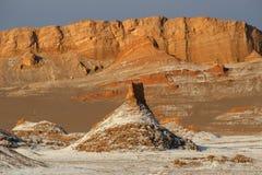 Tramonto alla La Luna di Valle de fotografia stock libera da diritti