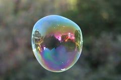 Tramonto attraverso una bolla II Fotografia Stock
