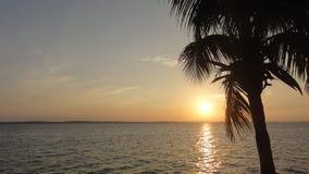 Tramonto a Avana Immagini Stock Libere da Diritti