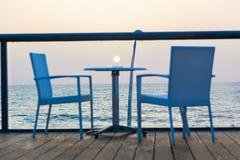 Tramonto blu fotografie stock libere da diritti