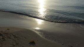Tramonto in Cancun Immagini Stock Libere da Diritti