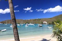 Tramonto caraibico Fotografia Stock Libera da Diritti