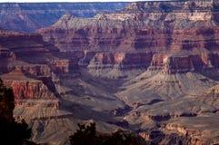 Tramonto del grande canyon fotografia stock