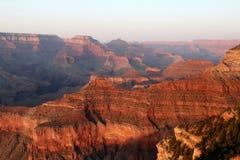 Tramonto del grande canyon fotografia stock libera da diritti