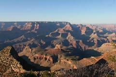 Tramonto del grande canyon fotografie stock libere da diritti