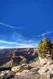 Tramonto del grande canyon, Arizona Fotografie Stock Libere da Diritti