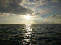 Tramonto del Key West Fotografia Stock