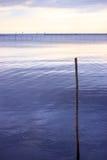 Tramonto del mare in Tailandia Immagine Stock Libera da Diritti