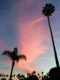 Tramonto della California Fotografie Stock