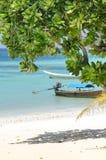 Tramonto della spiaggia di Pakmeng Trang Tailandia Fotografia Stock Libera da Diritti