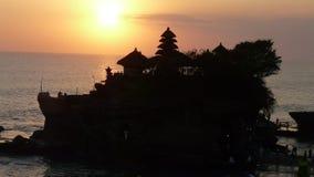 Tramonto di Bali Immagini Stock