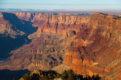 Tramonto di Grand Canyon immagine stock