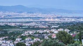 Tramonto di Malaga video d archivio