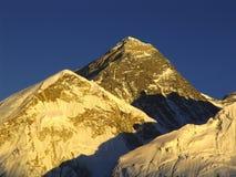 Tramonto di Mt Everest Fotografie Stock Libere da Diritti