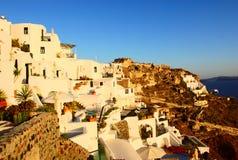 Tramonto di Mykonos Immagine Stock
