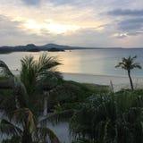 Tramonto di Okinawa Fotografia Stock