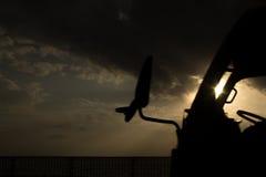 Tramonto di Okinawa Fotografie Stock Libere da Diritti