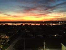 Tramonto in Florida fotografia stock libera da diritti