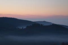 tramonto fragile Immagine Stock