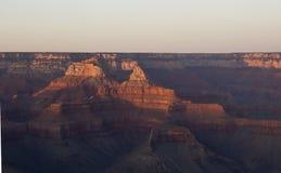 Tramonto in grande canyon Immagine Stock Libera da Diritti