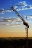 Tramonto industriale Fotografie Stock