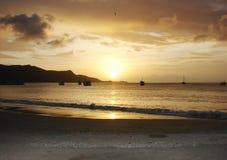 Tramonto Isla Margarita Fotografie Stock
