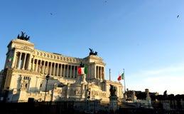 Tramonto italiano Fotografia Stock