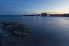 Tramonto Key West Fotografie Stock Libere da Diritti