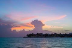 Tramonto a Key West Fotografia Stock