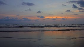Tramonto a Koh Chang, Trat Immagini Stock