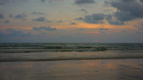 Tramonto a Koh Chang, Trat Immagine Stock
