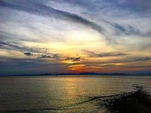 tramonto Kuala perlis Fotografie Stock