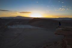 Tramonto in La Luna di Valle de Fotografia Stock Libera da Diritti