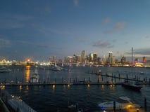 Tramonto Miami Fotografia Stock
