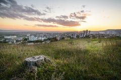 Tramonto sopra il gradina di kaicieva, Varna Fotografia Stock Libera da Diritti