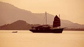Tramonto sulla Tailandia Fotografia Stock