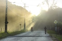 Tramonto Sunbeam di Sun fotografie stock libere da diritti