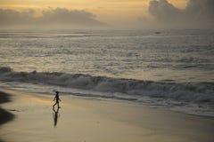 Tramonto in Tahiti fotografia stock libera da diritti