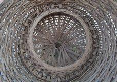 Trampa de bambú de los pescados Fotos de archivo