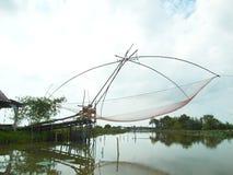 Trampa grande de los pescados Foto de archivo libre de regalías