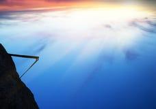 Trampolim para um mergulho Fotografia de Stock
