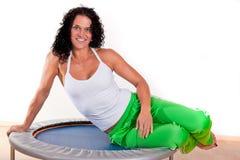trampoline Royaltyfria Bilder