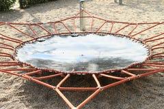 trampoline Royaltyfri Fotografi