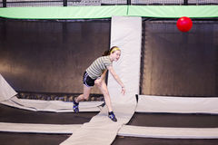 Free Trampoline Ball Stock Images - 19390394