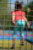 Trampoline Child Stock Image