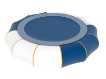 Trampoline inflável Fotografia de Stock