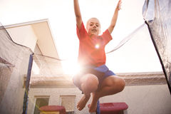 Trampoline Royalty Free Stock Photos