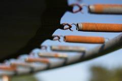 Trampolino arrugginito Fotografia Stock Libera da Diritti